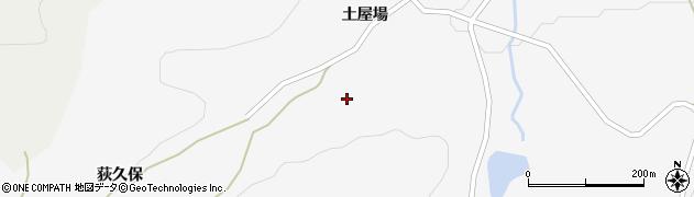 福島県福島市大波(荻久保入向)周辺の地図