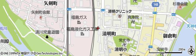ふくしま 連携復興センター(一般社団法人)周辺の地図