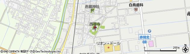 西福寺周辺の地図