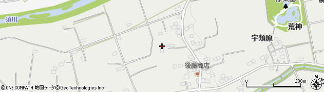 福島県福島市桜本(玉木)周辺の地図