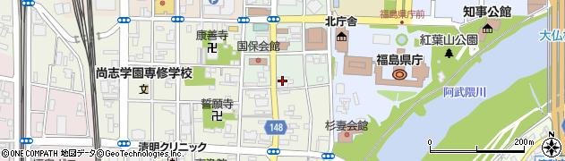 株式会社みんなの味方福島店周辺の地図
