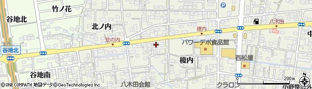 ジャノメ直営・福島支店 24時間風呂サービス周辺の地図