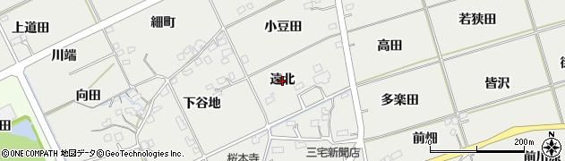 福島県福島市桜本(遠北)周辺の地図