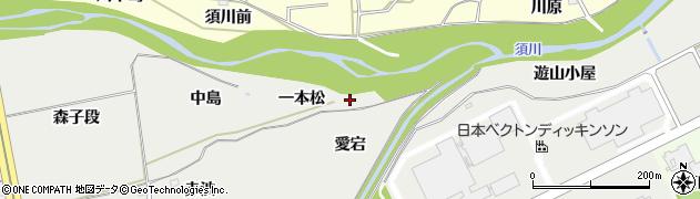 福島県福島市桜本(一本松)周辺の地図