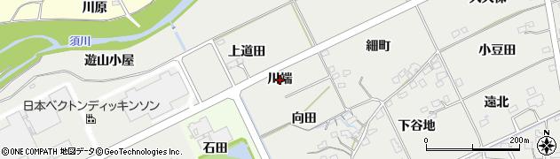福島県福島市桜本(川端)周辺の地図