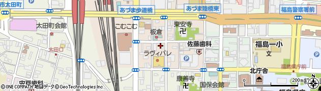 駅前・大平ガレージ周辺の地図