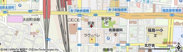 板倉雄一郎税理士事務所周辺の地図