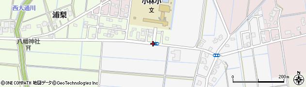 小林小前周辺の地図