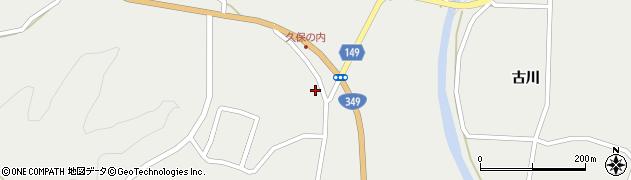 福島県伊達市月舘町御代田(六角)周辺の地図