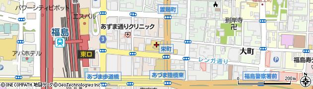 U・ONEMUSIC周辺の地図