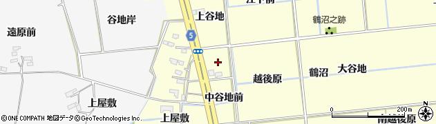 福島県福島市二子塚(明神前)周辺の地図