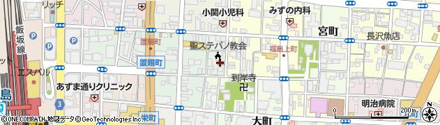 株式会社日水コン 福島事務所周辺の地図