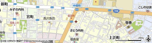 アンダンテ周辺の地図