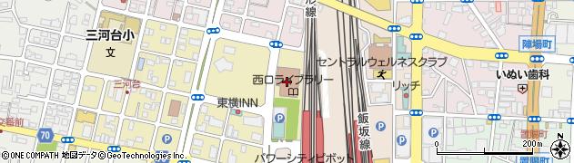 福島県信用保証協会管理部周辺の地図