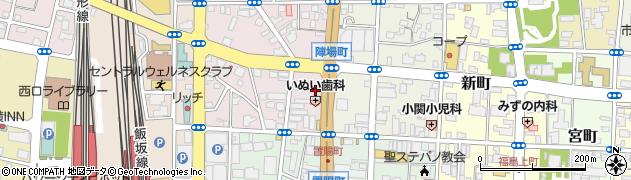 ロイヤル化粧品株式会社 オフィシャルサロン福島周辺の地図