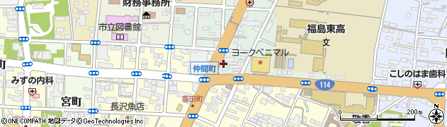 渡辺タイヤ商会周辺の地図