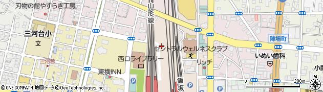 福島県福島市下谷地周辺の地図