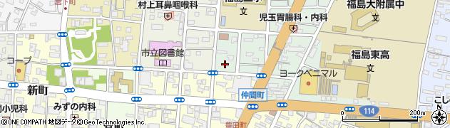 村本建設株式会社 福島営業所周辺の地図
