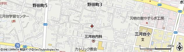 株式会社新設備工業所周辺の地図