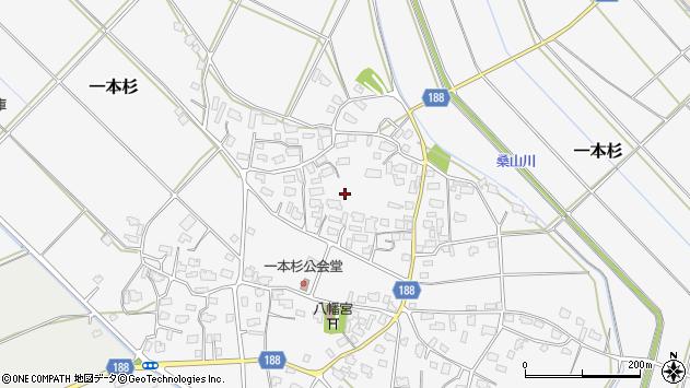 〒959-1601 新潟県五泉市一本杉の地図