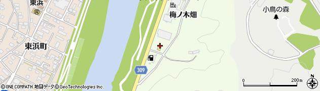 福島県福島市渡利(八寺沢下)周辺の地図