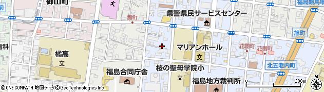福島友の会周辺の地図