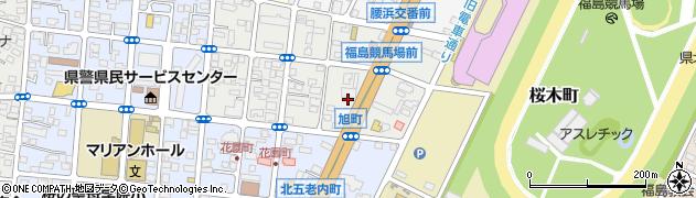Aガラスのトラブル出張サービス・ガラスの生活救急車 福島市・二本松市・川俣町・飯野町・受付センター周辺の地図