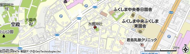 水雲神社周辺の地図