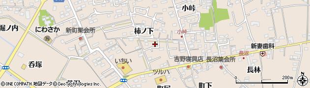 福島県福島市町庭坂(柿ノ下)周辺の地図