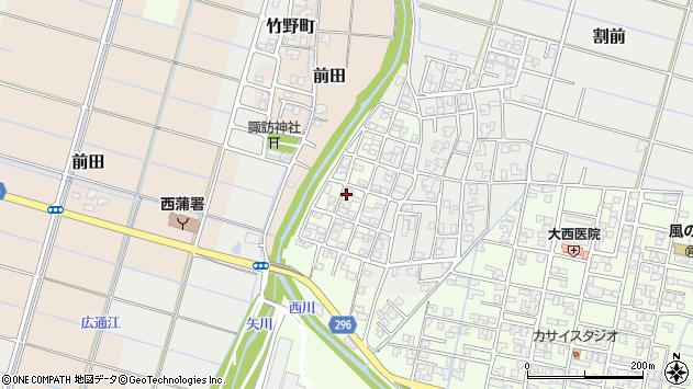 〒953-0045 新潟県新潟市西蒲区桔梗ケ丘の地図