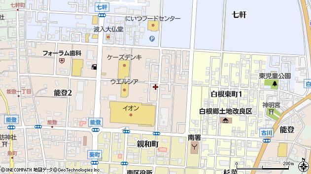 〒950-1213 新潟県新潟市南区能登の地図