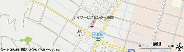 新潟県新潟市西蒲区竹野町2454周辺の地図