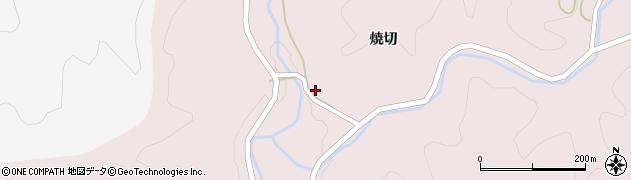 福島県伊達市霊山町石田(広畑)周辺の地図