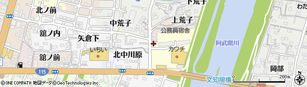 株式会社えーる周辺の地図