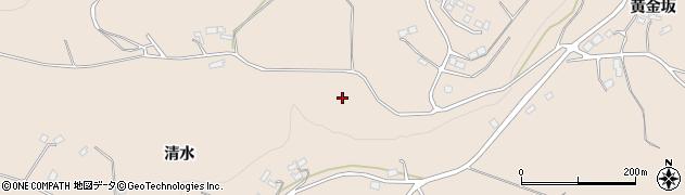 福島県福島市町庭坂(崩)周辺の地図