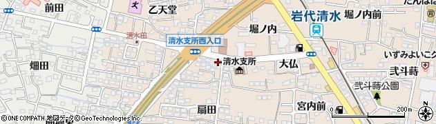 福島県 福祉サービス振興会(NPO法人)周辺の地図