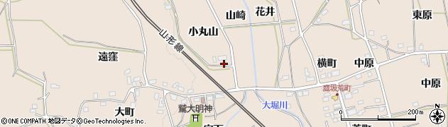 福島県福島市町庭坂(小丸山)周辺の地図