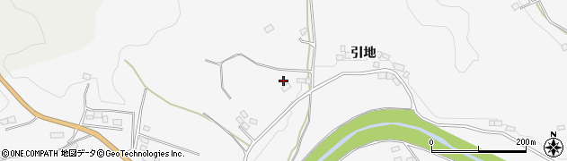 福島県伊達市霊山町山戸田(舘下)周辺の地図