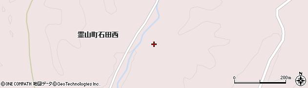 福島県伊達市霊山町石田(西前作)周辺の地図