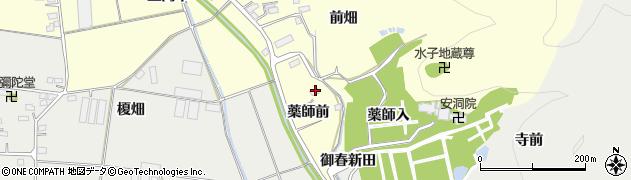 福島県福島市岡島(薬師前)周辺の地図
