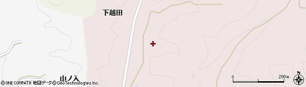 福島県伊達市霊山町石田(中田)周辺の地図