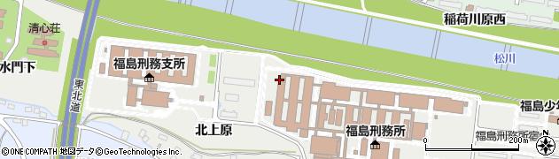 福島県福島市南沢又(北上原)周辺の地図