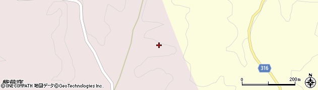 福島県伊達市霊山町石田(大又)周辺の地図