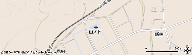 福島県福島市町庭坂(山ノ下)周辺の地図