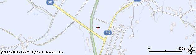 福島県伊達市保原町富沢(上平)周辺の地図