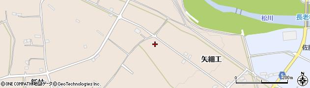 福島県福島市町庭坂(矢細工)周辺の地図