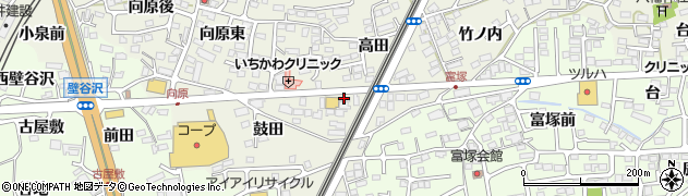 株式会社グリーン仙台警備 福島営業所周辺の地図