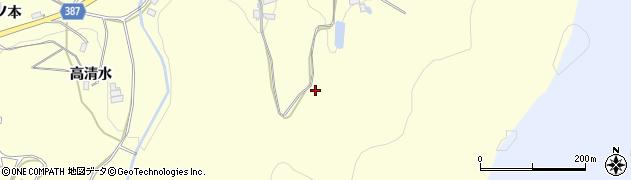 福島県伊達市保原町高成田(場地木)周辺の地図