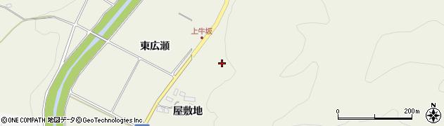 福島県伊達市霊山町中川(宮下)周辺の地図