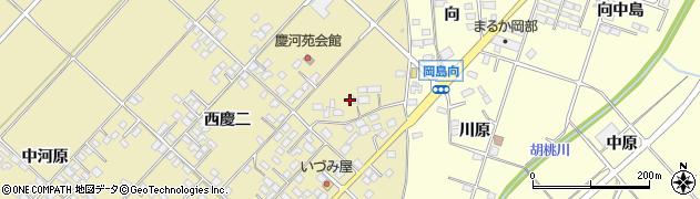 福島県福島市本内(慶二)周辺の地図